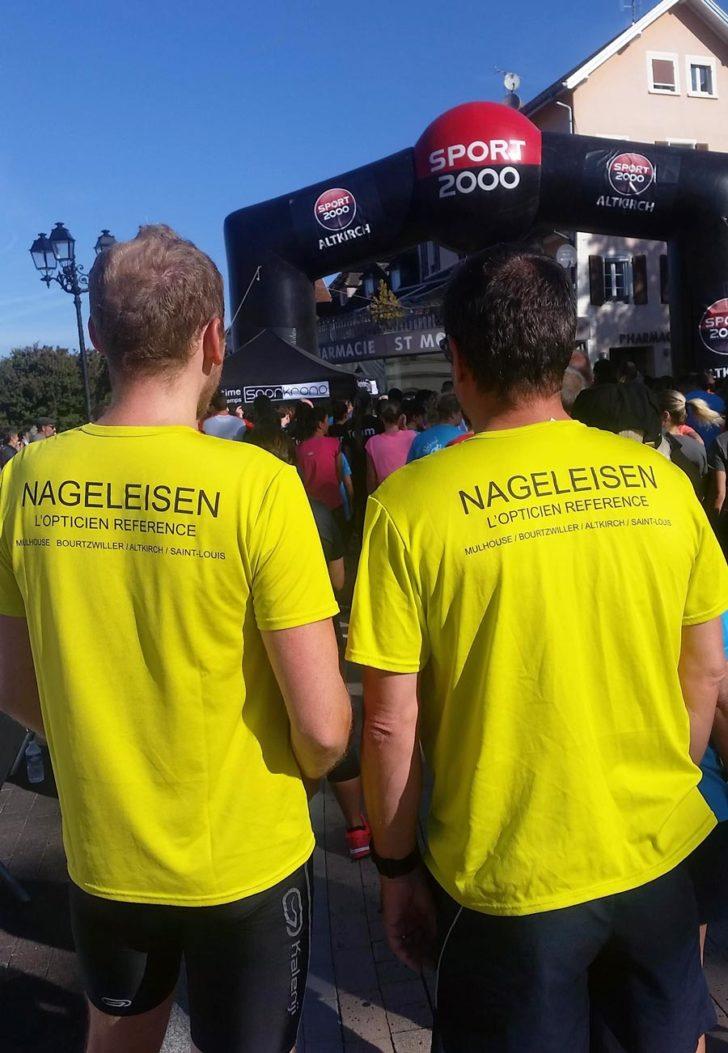 L'équipe Nageleisen à l'Altkirch Trail Urbain 2018