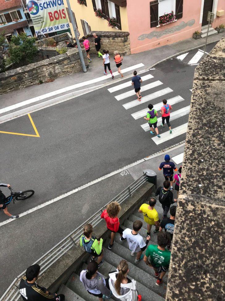 Altkirch Trail Urbain 2018 - La course passage
