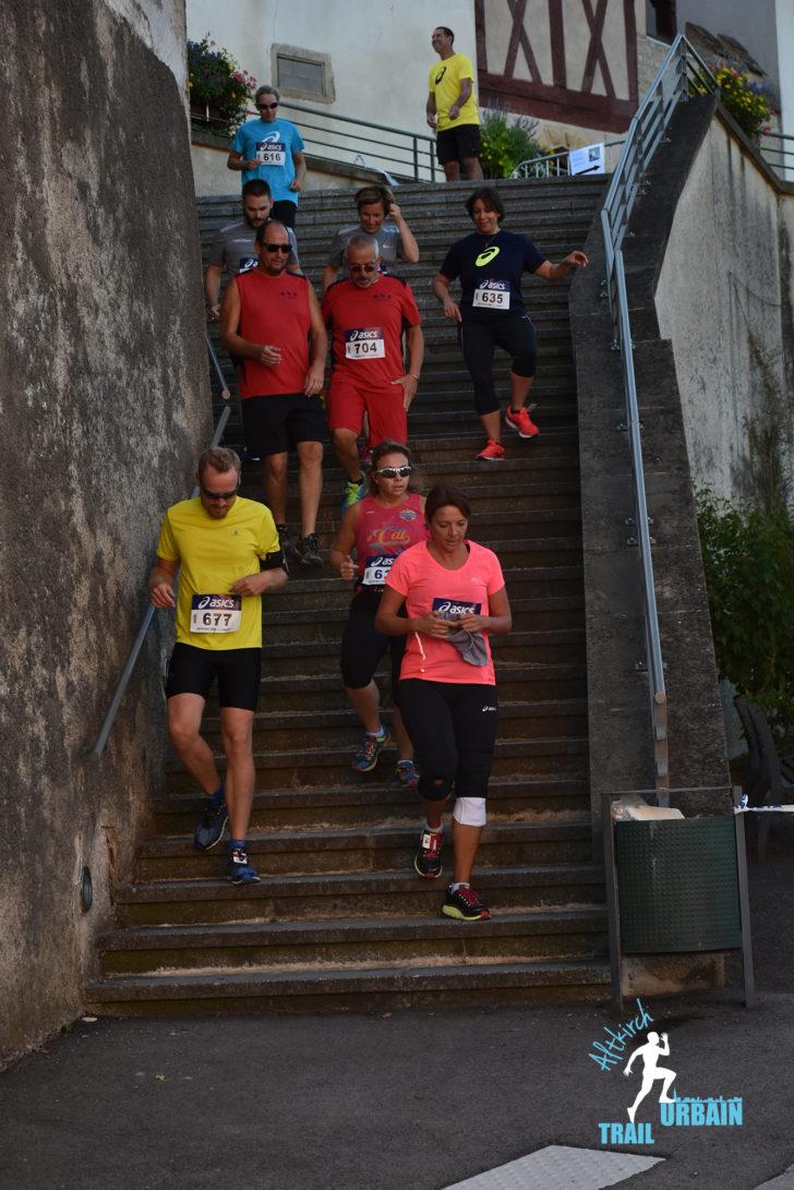 Altkirch Trail Urbain 2018 - L'équipe Nageleisen dans la course