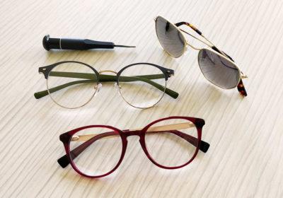 Nageleisen entretien et répare votre paire de lunettes tout au long de sa vie