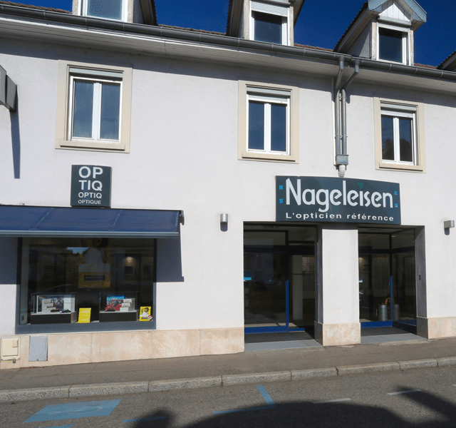 Boutique opticiens Nageleisen Mulhouse Bourtzwiller
