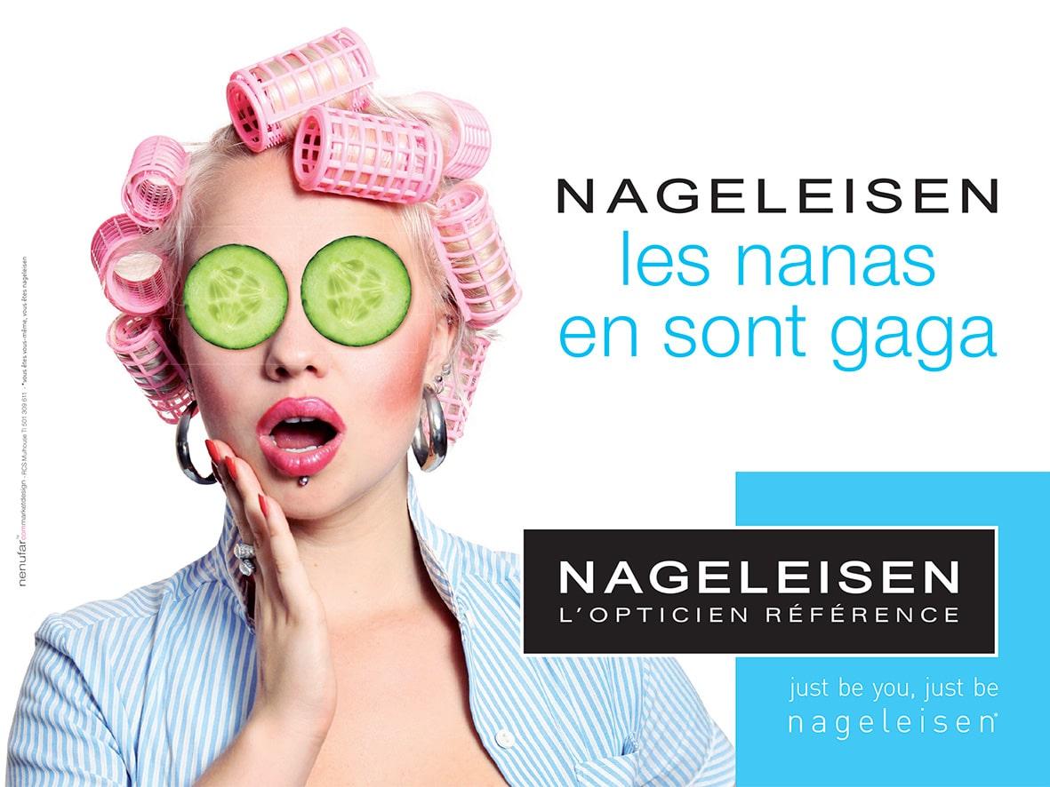 Publicité 2017 Optique Nageleisen - Les nanas en sont gaga
